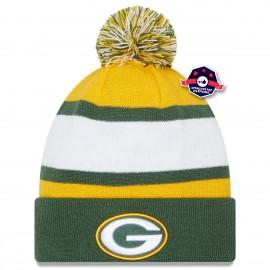 Bonnet Green Bay Packers - Stripe Green - New Era
