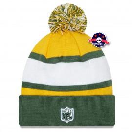 Bonnet Green Bay Packers Stripe Green - New Era