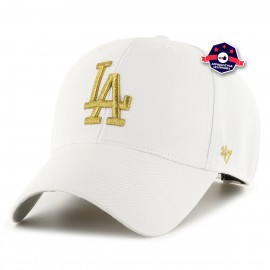 Casquette '47 - Los Angeles Dodgers - Metallic Snap White
