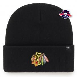 Bonnet '47 NHL Chicago Blackhawks - Noir
