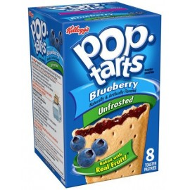 Pop Tarts Unfrosted Blueberry