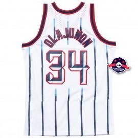 Jersey NBA - Hakeem Olajuwon - Houston Rockets - Blanc