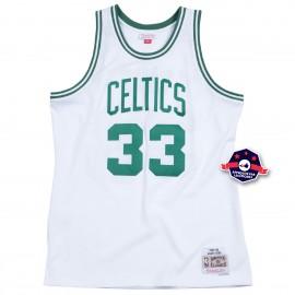 Jersey NBA - Larry Bird - Boston Celtic - Blanc