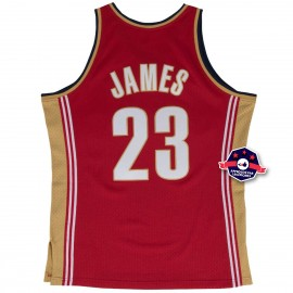 Jersey - LeBron James - Cleveland Cavaliers - Rouge