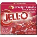 Jell-O Fraise et Banane