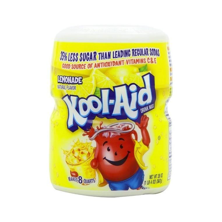 Mix en poudre de Kool Aid Lemonade
