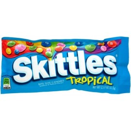 Paquet de Skittles tropical