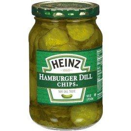 Pickles tranchés pour Hamburger - Heinz