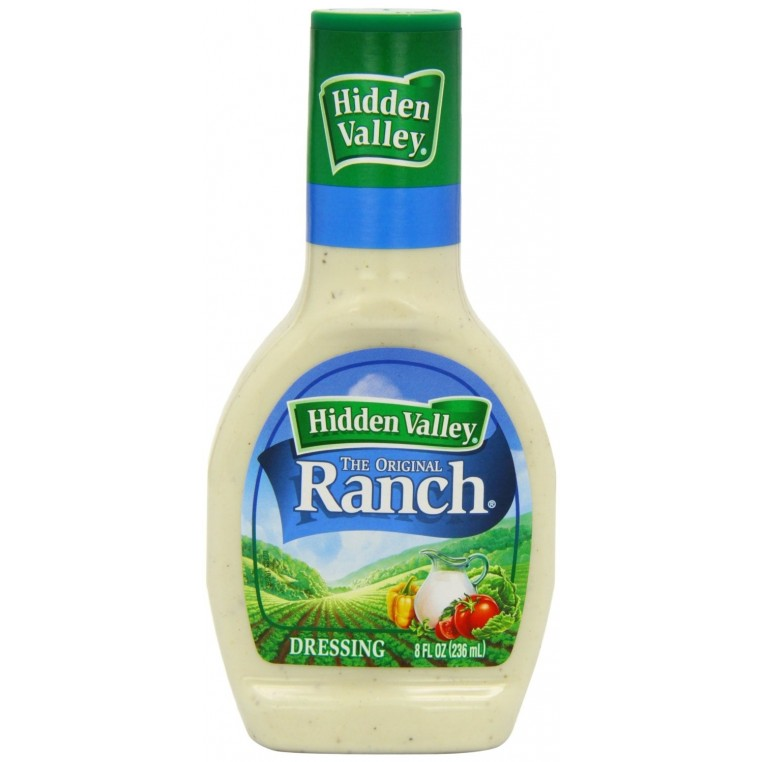 Sauce salade Ranch Hidden Valley