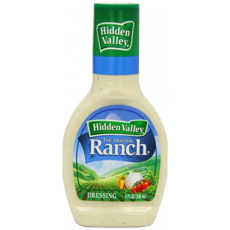 Sauce salade Ranch Hidden Valley