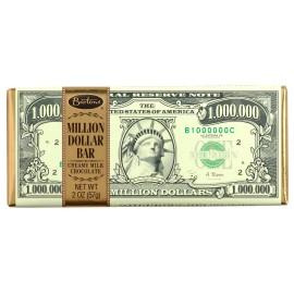 Plaque de chocolat Barton's Million$ creamy