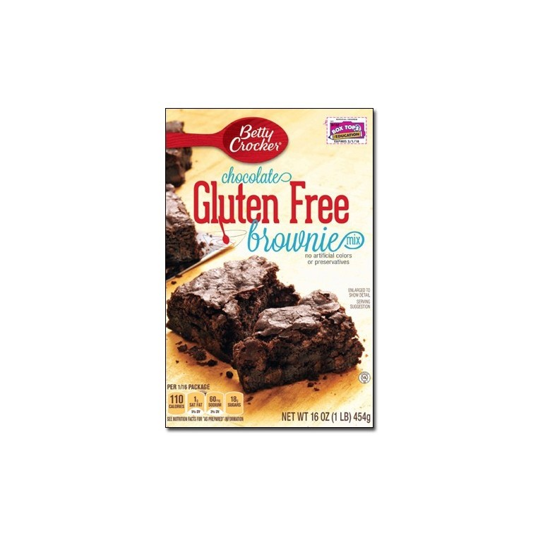 Mix pour brownie au chocolat gluten free Betty Crocker