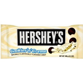 Plaque de chocolat Hersheys cookies & cream maxi format