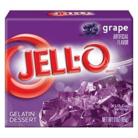 Jell-O au raisin