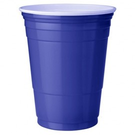 25 Gobelets Bleu - Blue Cups - 473ml