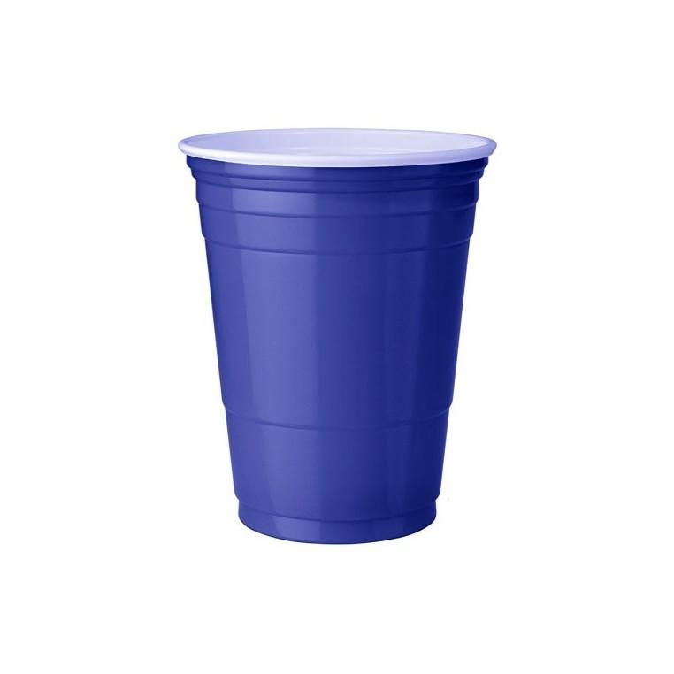 25 Gobelets Bleu - Blue Cups - 473ml