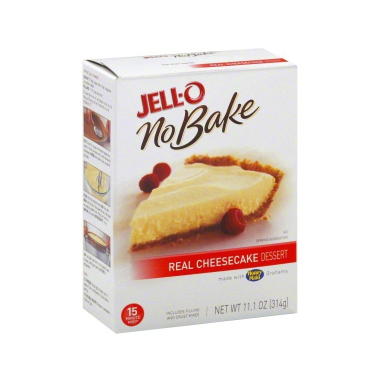 Jell-O No Bake Real Cheesecake