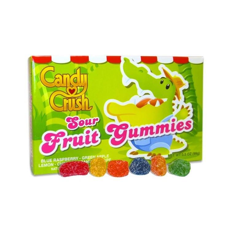 Bonbons aux fruits acidulés Candy Crush