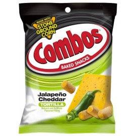 Crackers fromage et piment - Combos Jalapeno Cheddar