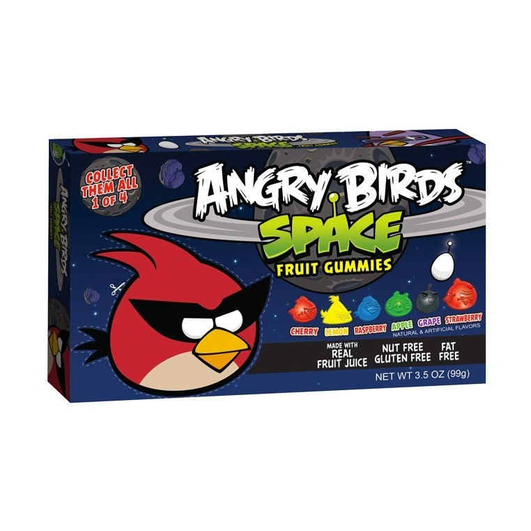 Angry Birds Space Fruit Gummies