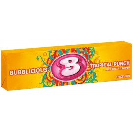 Chewing gum Bubblicious Tropical Punch