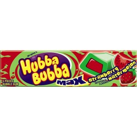 Chewing-gums Hubba Bubba Max - Fraise / Pastèque