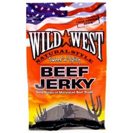 Beef Jerky Wild West - Sweet'n'Spicy - Maxi format 85g