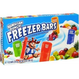 Sucettes à glacer - Hawaiian Punch - Freezer Bars
