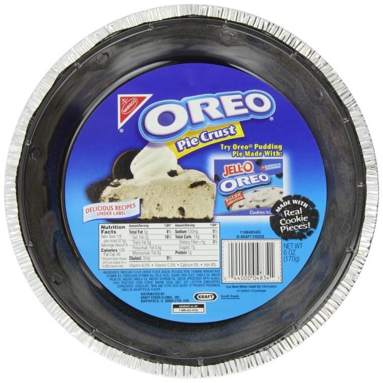 Oreo Pie Crust-Fond de tarte Oreo