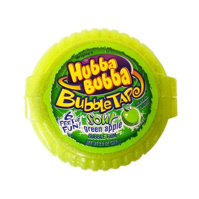Hubba Bubba rouleau de Chewing Gum Pomme acidulée