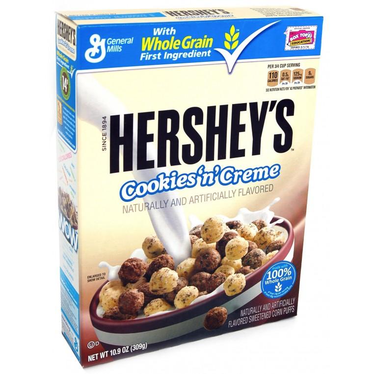 Céréales Hershey's Cookies'n'Cream