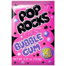 Sucre pétillant - Pop Rocks goût Bubble Gum