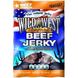Beef Jerky Wild West - Hot 'n Spicy - maxiformat