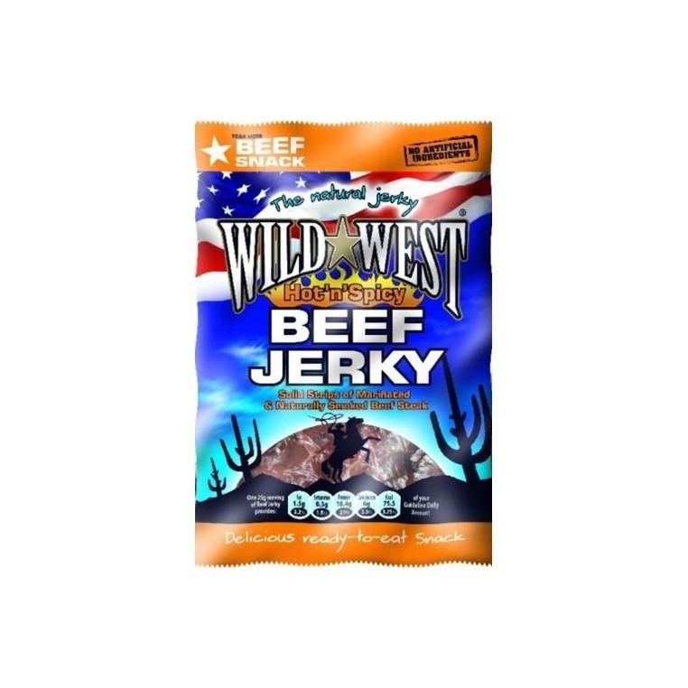 Beef Jerky Wild West - Hot 'n Spicy - maxiformat