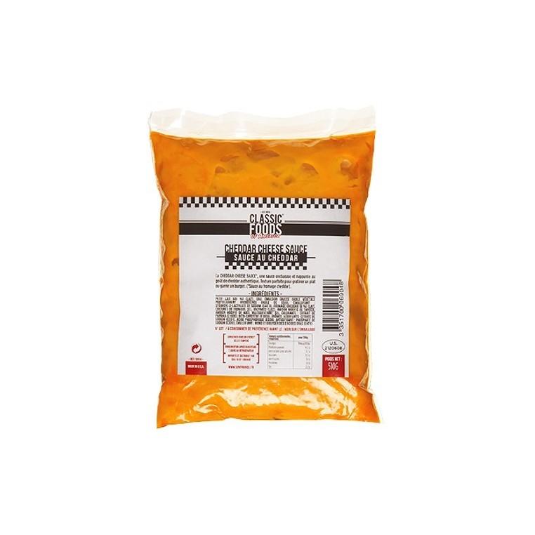Sachet de Cheddar Cheese Sauce