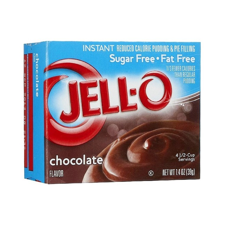 JELL-O CHOCOLAT SUGAR FREE