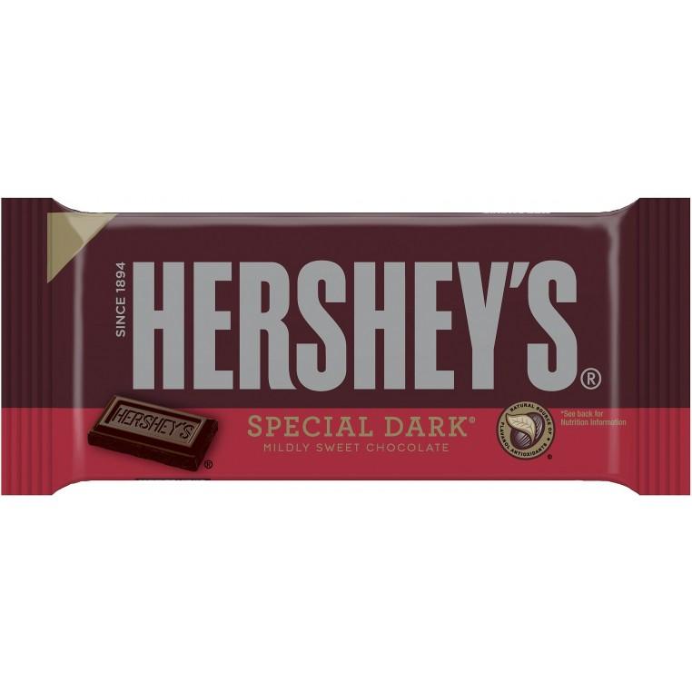 Plaque de chocolat noir - Hershey's Special Dark - 192g