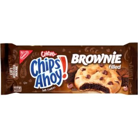 Nabisco Chewy Chips Ahoy Brownie Cookies - 125g