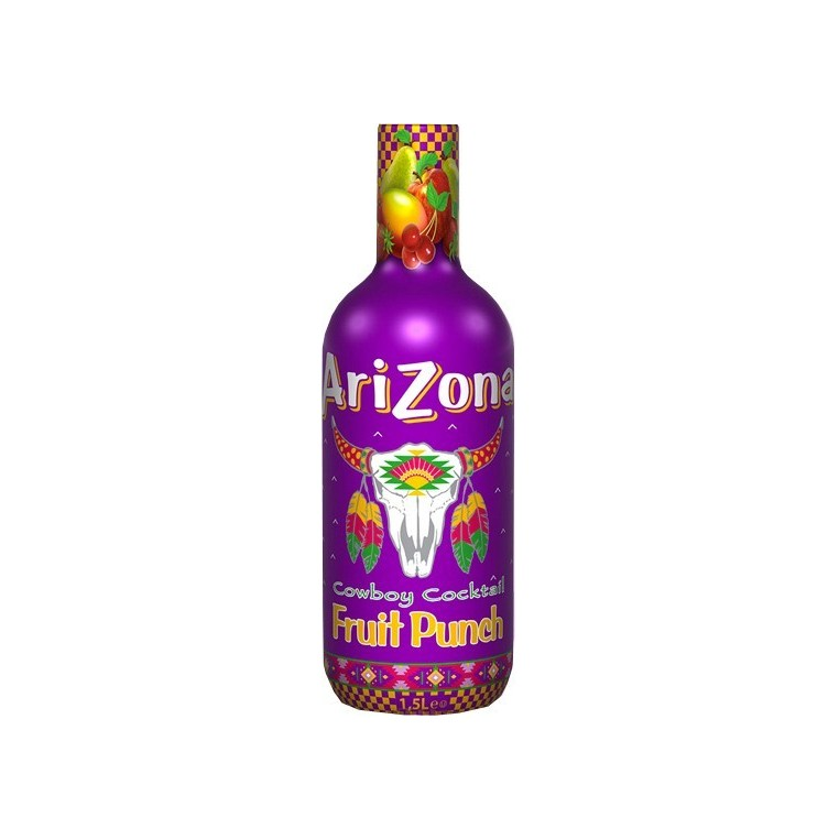 Boisson Arizona multifruits - Cowboy Cocktail Fruit Punch - 1,5l